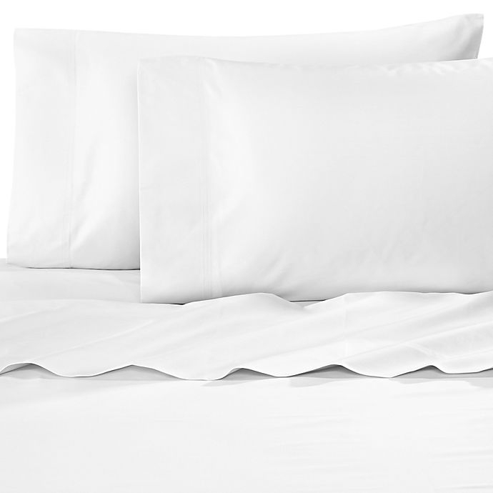 Alternate image 1 for Williamsburg 400-Thread-Count Queen Sheet Set in White