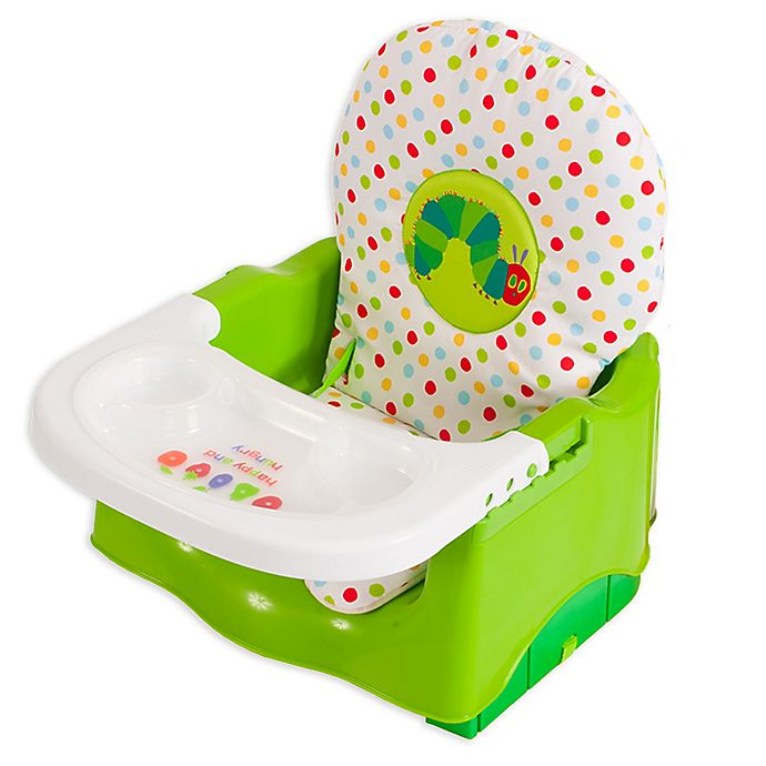 Alternate image 1 for Eric Carle The Very Hungry Caterpillar Happy and Hungry Booster Seat