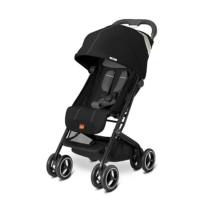 Alternate image 1 for GB Qbit Plus Stroller in Monument Black