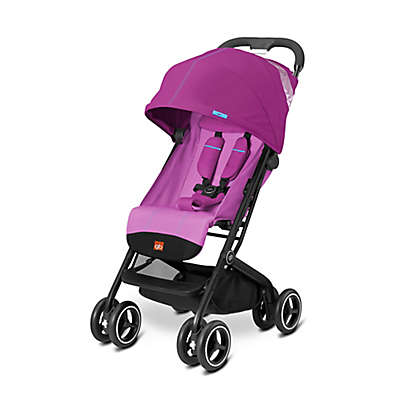 GB Qbit Plus Stroller in Posh Pink