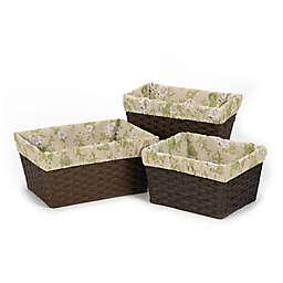 Sweet Jojo Designs Annabel 3-Piece Basket Liner Set