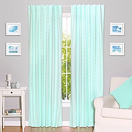 The Peanutshell™  Arrows 84-Inch Blackout Window Curtain Panels in Mint (Set of 2)