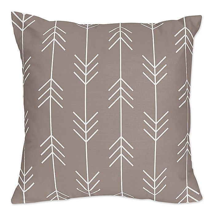 Outdoor Adventure Arrow Throw Pillows