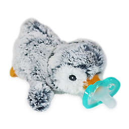 RaZbaby® RaZbuddy Penguin Pacifer Holder with Removable JollyPop Pacifier