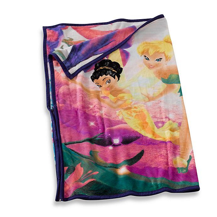 33c2753d31e Disney® Tinkerbell Cuddly Wrap Blanket Throw   Bed Bath & Beyond