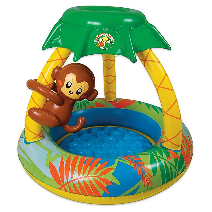 Alternate image 1 for Poolmaster Go Bananas Monkey Baby Pool