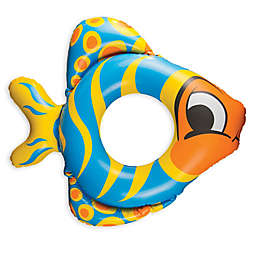 Fish 2-Pack Float Tube in Yellow/Blue