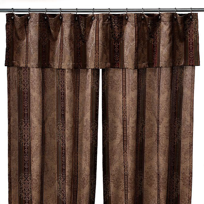 Townhouse Double Swag Shower Curtain Set By Croscill