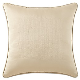Waterford® Linens Aramis Quilted Square Throw Pillow in Gold