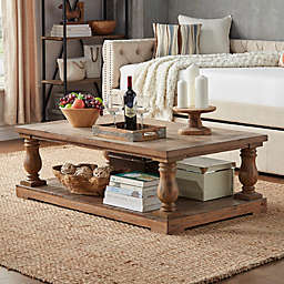 Cordelia Baluster Table Collection in Vintage Pine