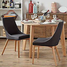 iNSPIRE Q® Hudson Mid-Century Side Dining Chairs (Set of 2)