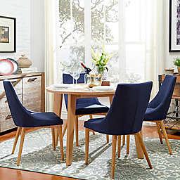 iNSPIRE Q® Hudson Mid-Century 5-Piece Round Dining Set