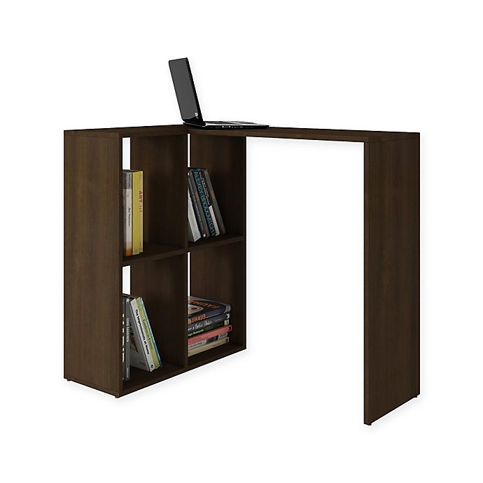 Manhattan Comfort Accentuations Pescara Cubby Desk