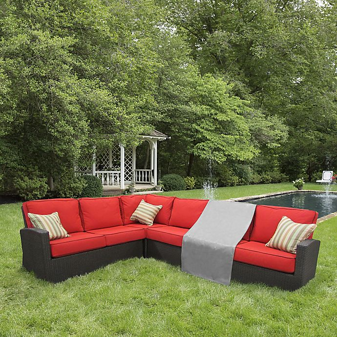 Alternate image 1 for Protective Covers by Adco Modular Sectional Arm Less Center Sofa Cover