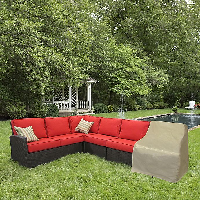 Alternate image 1 for Protective Covers by Adco Modular Sectional Right Arm Sofa Cover
