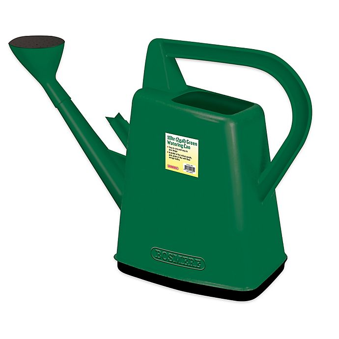 Alternate image 1 for Bosmere 2.6-Gallon Plastic Watering Can in Green