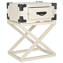 The Safavieh Dunstan Accent Table With Storage