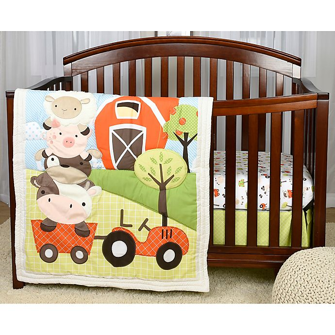 Baby S First By Nemcor Mcdonald S Farm Crib Bedding