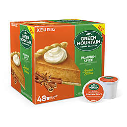 Green Mountain Coffee® Pumpkin Spice Coffee Keurig® K-Cup® Pods 48-Count Value Pack