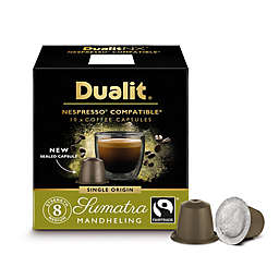 Dualit® 60-Count NX Origins Sumatra Mandheling Nespresso® Compatible Coffee Capsules