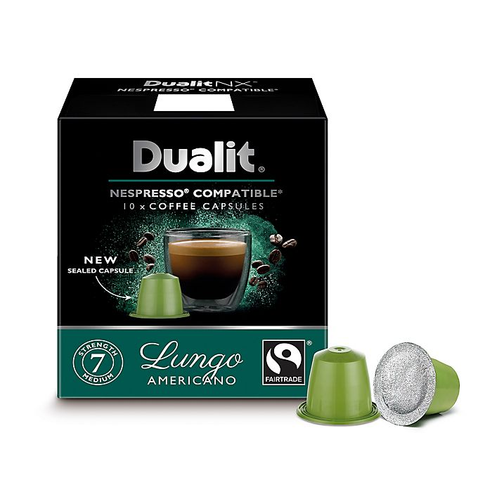 Alternate image 1 for Dualit® 60-Count NX Lungo Nespresso® Compatible Coffee Capsules