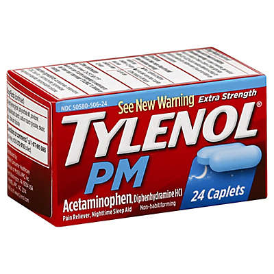 Tylenol® PM 24-Count Extra Strength Caplets