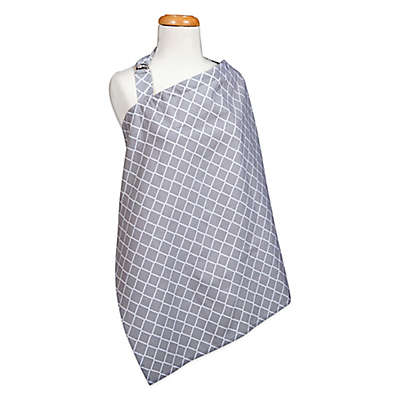 Trend Lab® Diamond Nursing Cover in Grey