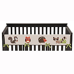 Sweet Jojo Designs Forest Friends Long Crib Rail Guard Covers