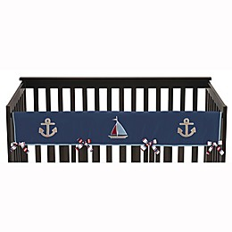 Sweet Jojo Designs Nautical Nights Long Rail Guard