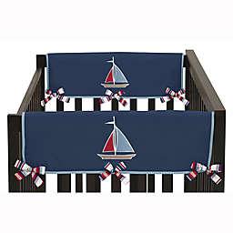 Sweet Jojo Designs Nautical Nights Short Rail Guards (Set of 2)