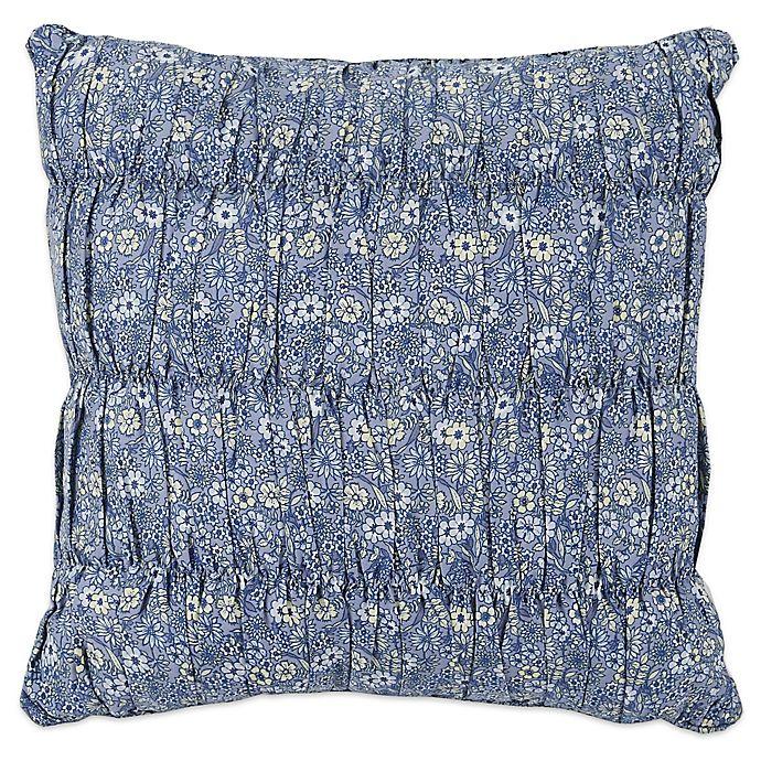 Fine Mary Janes Home Dora 18 Inch Square Throw Pillow In Blue Machost Co Dining Chair Design Ideas Machostcouk