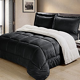 Cathay Home Inc. Reversible Down Alternative Comforter Set