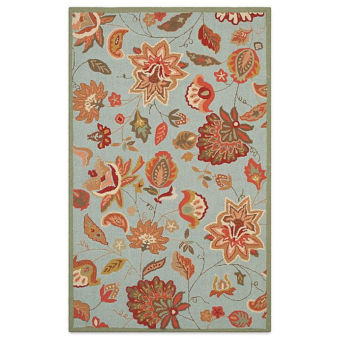 Alternate image 1 for Safavieh Four Seasons Paige 5-Foot x 8-Foot Area Rug in Ivory/Yellow