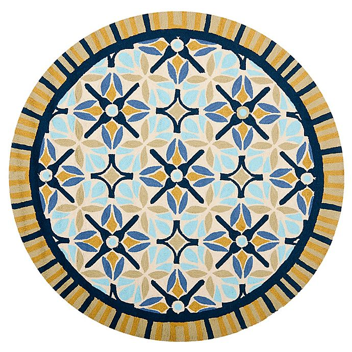 Buy Safavieh Four Seasons Tile Border 6 Foot Round Indoor