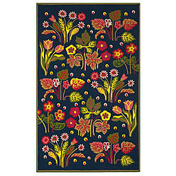 Safavieh Four Seasons Field Rug in Navy/Green