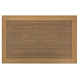 Home Dynamix Gentle Step 1'7 x 2'7 Memory Foam Washable Accent Rug in Beige