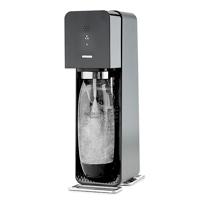 Alternate image 1 for SodaStream® SOURCE™ Sparkling Water Maker Starter Kit in Black
