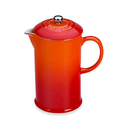 Le Creuset® 27 oz. French Press in Flame