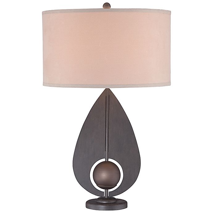 George Kovacs® Portables Table Lamp With Iron Finish And