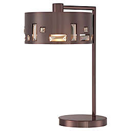George Kovacs® Bling Bang Table Lamp with Chocolate Chrome Finish