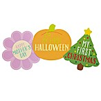 "Pearhead ""Baby's First Holiday  Shape Stickers (Set of 13)"