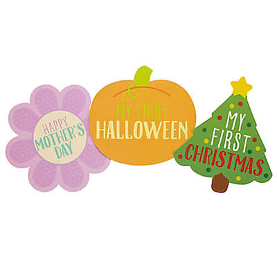 "Pearhead ""Baby's First Holiday"" Shape Stickers (Set of 13)"