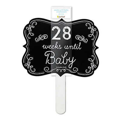 "Pearhead ""Weeks Until Baby"" Chalkboard Sign"