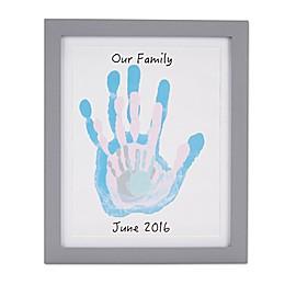 Pearhead Handprint Frame in Grey