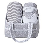 Trend Lab® 6-Piece Baby Care Gift Set in Safari Grey