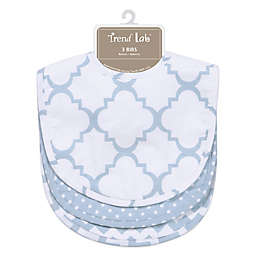 Trend Lab® 3-Pack Bib Set in Blue Sky