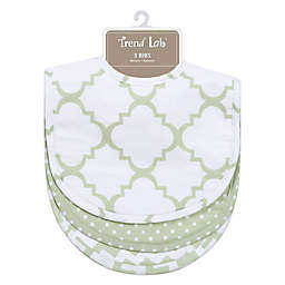 Trend Lab® 3-Pack Bib Set in Sea Foam