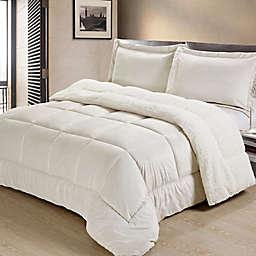 Sherpa Down Alternative Comforter Set