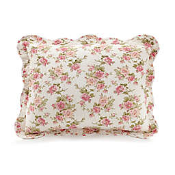 Mary Jane's Home Sweet Roses Pillow Sham in Pink