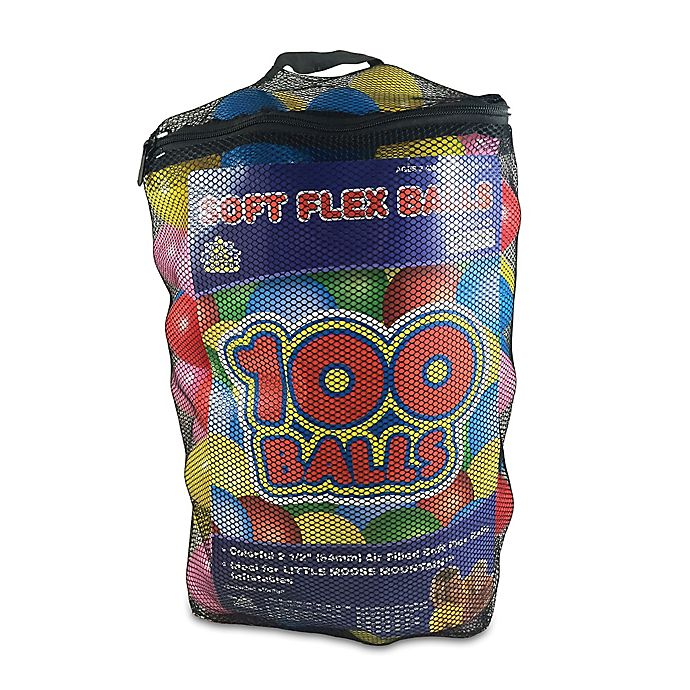 Alternate image 1 for 100-Pack Balls In A Mesh Bag